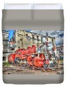 Train In Havana Duvet Cover