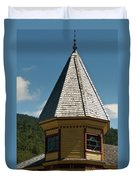 Train Station Spire Duvet Cover