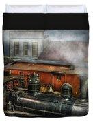 Train - Yard - The Train Yard II Duvet Cover