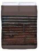 Trains 13 Autochrome Duvet Cover