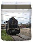 Trains 3 Paint Org Duvet Cover