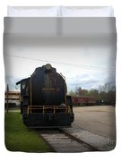 Trains 3 Vign Duvet Cover