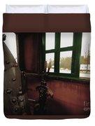 Trains 5 Retro Duvet Cover