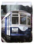 Trains Brookfield Zoo Trolley Car 141 Duvet Cover