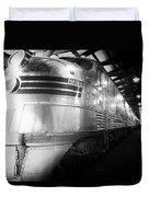Trains Emd E5 Diesel Locomotive Bw Duvet Cover