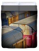 Trains - Nashville Duvet Cover