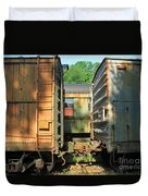 Trainyard 5 Duvet Cover