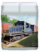 Trainyard 7 Duvet Cover