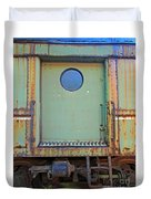 Trainyard 9 Duvet Cover