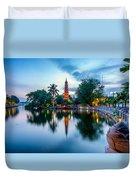 Tran Quoc Pagoda Duvet Cover