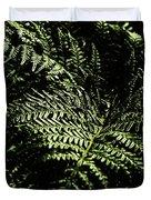 Tranquil Botanical Ferns Duvet Cover
