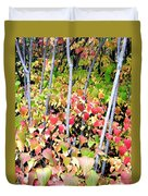 Tranquil Days Of Autumn Duvet Cover