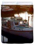 Tranquil Harbor Duvet Cover