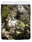 Tranquil Mountain Canyon Duvet Cover