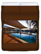 Tranquil Pool Duvet Cover