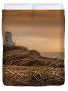 Tranquil Sunset At Llanddwyn Island - Anglesey, North Wales Duvet Cover