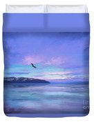 Tranquility At Dawn Duvet Cover