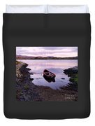 Tranquility In County Galway Duvet Cover