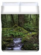 Tranquility In The Forest Duvet Cover