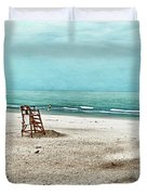 Tranquility On Tybee Island Duvet Cover