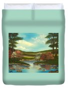 Peace In The Valley Duvet Cover