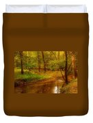 Tranquility Stream - Allaire State Park Duvet Cover