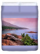 Tranquillity At Dawn Duvet Cover