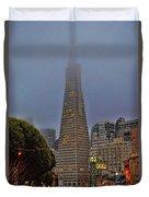 Trans American Building -1 Duvet Cover