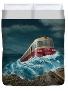 Trans Europe Express Duvet Cover
