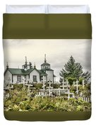 Transfiguration Of Our Lord Church Duvet Cover