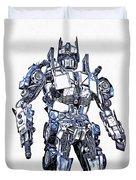 Transformers Optimus Prime Or Orion Pax Graphic  Duvet Cover