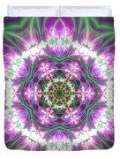 Transition Flower 6 Beats 3 Duvet Cover