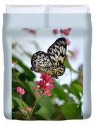 Translucent Butterfly Duvet Cover