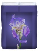 Translucent Iris Duvet Cover