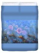Transparent Beauties Duvet Cover