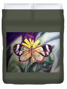 Transparent Butterfly Duvet Cover