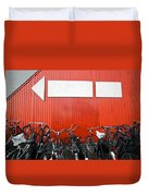 Transportation And Direction Duvet Cover