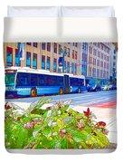 Transportation In New York 4 Duvet Cover