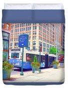 Transportation In New York 6 Duvet Cover