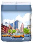 Transportation In New York 8 Duvet Cover