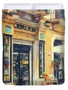 Trapani Art 21 Sicily Duvet Cover