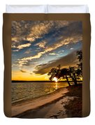 Trapped Sunset Duvet Cover