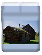 Trappers Cabin Clydesdale Barn Duvet Cover