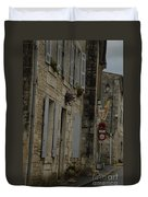 Travel Photography France Duvet Cover