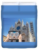 Travel To Siena Concept Duvet Cover
