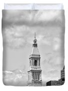Travelers Tower - Hartford Connecticut Duvet Cover