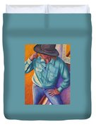 Travelin Man Duvet Cover
