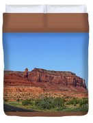 Traveling On Highway 163 Duvet Cover