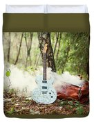 Traveller's Bag Duvet Cover