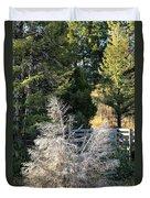 Travertine Tree Duvet Cover